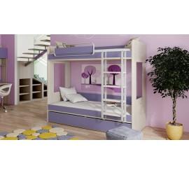 Двухъярусная кровать Аватар Лаванда