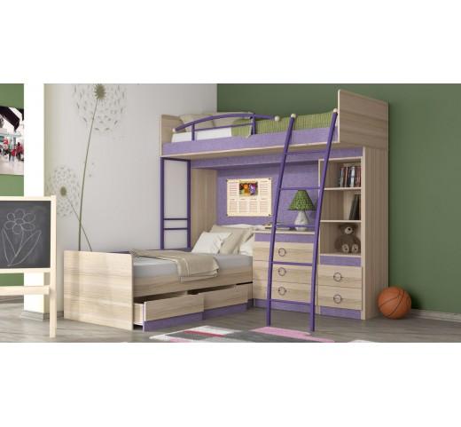 Двухъярусная кровать Индиго ГН-145.007