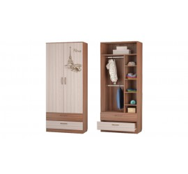 Шкаф для одежды с 2-мя ящиками Вояж