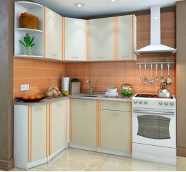 Кухонный гарнитур Бланка СТЛ.123.00 левый Дуб молочный
