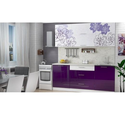 Кухонный гарнитур Бордо-виолет 1.6