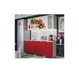 Кухонный гарнитур Клубника 1800