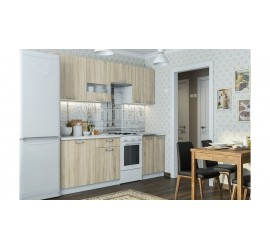 Кухонный гарнитур Розалия 1700 Дуб Сонома