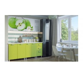 Кухонный гарнитур Яблоки 1800