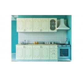 Кухонный гарнитур Версаль-1 Ваниль 1,6