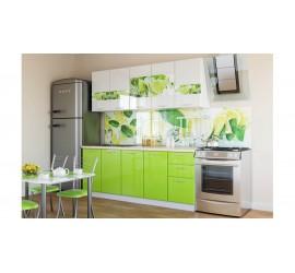 Кухонный гарнитур Зеленый Лимон 2,0