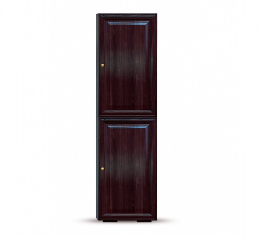 Стеллаж Гавана шоколад СВ-315 двери СВ-316г и СВ-316г