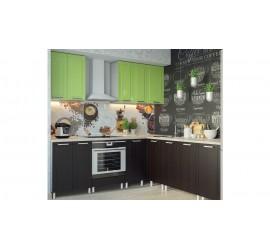 Кухня Геометрия Фисташковый