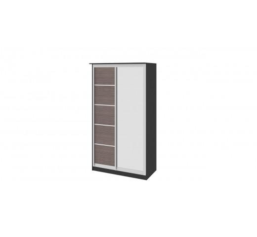 Зеркальный шкаф-купе Стэн СМ-140.01.002 Венге-Каналы Дуба