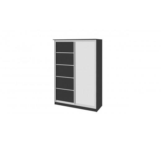 Зеркальный шкаф-купе Стэн СМ-140.02.002 Венге