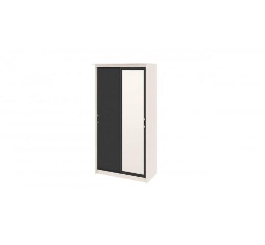 Зеркальный шкаф-купе Стэн Лайт СМ-140.09.002 Дуб Белфорт-Венге
