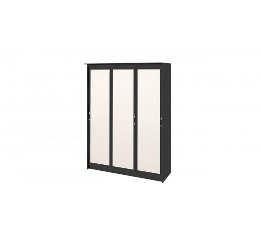 Зеркальный шкаф-купе Стэн Лайт 140.10 Венге Цаво