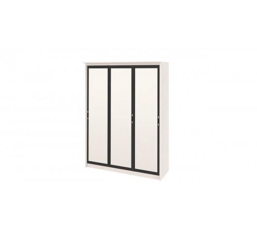 Зеркальный шкаф-купе Стэн Лайт 140.10 Дуб - Венге Цаво