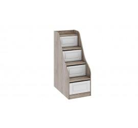 Лестница приставная с ящиками Прованс ТД-223.11.12
