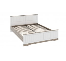 Двуспальная кровать с изножьем Прованс