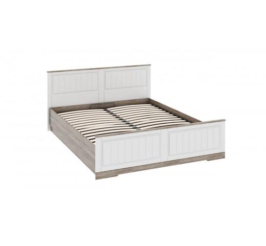 Двуспальная кровать с ПМ и изножьем Прованс