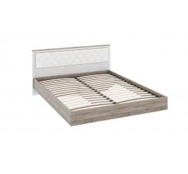 Двуспальная кровать с мягкой спинкой Прованс